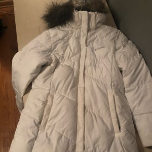 Columbia 3/4 length parka jacket